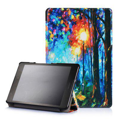 Pattern Hard Back Cover for Zenpad Z8 ZT581KL with Auto Sleep / Wake and Stand Function