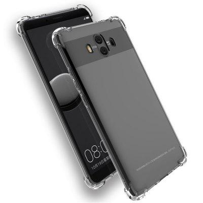 Buy TRANSPARENT Extreme Heavy Duty Protective Soft Rubber TPU Bumper Case Anti-Scratch Shockproof Rugged Protection Clear Transparent Back Cover for Huawei Mate10 for $2.12 in GearBest store