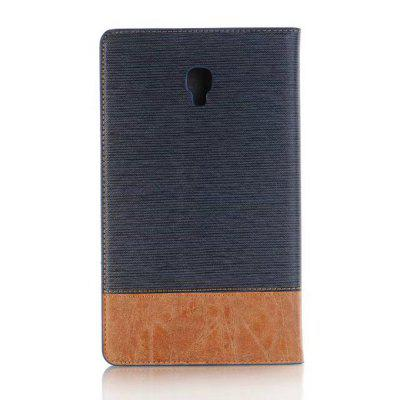 Dual Color Cross Lines Stitching Pattern Leather Stand Case for Samsung Galaxy Tab A 8.0 T380 / T385Tablet Accessories<br>Dual Color Cross Lines Stitching Pattern Leather Stand Case for Samsung Galaxy Tab A 8.0 T380 / T385<br><br>Accessory type: Tablet Leather Case<br>Compatible models: For Samsung<br>Features: Cases with Stand, With Credit Card Holder<br>For: Tablet PC<br>Package Contents: 1 x Tablet Case<br>Package size (L x W x H): 25.00 x 15.00 x 5.00 cm / 9.84 x 5.91 x 1.97 inches<br>Package weight: 0.3000 kg<br>Product weight: 0.1800 kg<br>Style: Mixed Color, Vintage