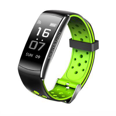 Buy GREEN Z11 Smart Bracelet Blood Pressure Heart Rate Monitor Fitness Tracker Bluetooth Wristband IP68 Waterproof Sport Smartband for $25.11 in GearBest store