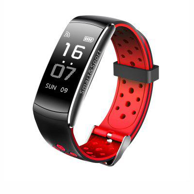 Buy RED Z11 Smart Bracelet Blood Pressure Heart Rate Monitor Fitness Tracker Bluetooth Wristband IP68 Waterproof Sport Smartband for $25.11 in GearBest store