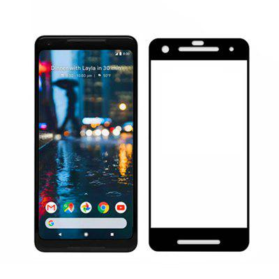 2.5D 9H Hardness Tempered Glass Full Cover Screen Film Protector for Google Pixel 2