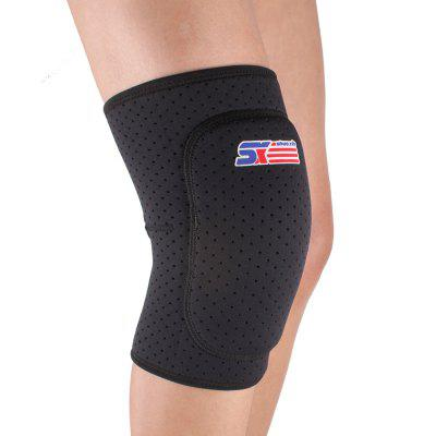 Shou Xin SX614 Thicken Breathable Sport Knee Guard Protector - Black