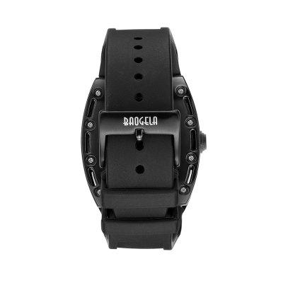 Baogela 1612 Fashionable Creative Silicon Band Men WatchMens Watches<br>Baogela 1612 Fashionable Creative Silicon Band Men Watch<br><br>Band material: Silicone<br>Band size: 24 x 2.7cm<br>Case material: Alloy<br>Clasp type: Pin buckle<br>Dial size: 4.5 x 4.1 x 1.6cm<br>Display type: Analog<br>Movement type: Quartz watch<br>Package Contents: 1 x Watch, 1 x WatchBox, 1 x Manual<br>Package size (L x W x H): 11.90 x 7.50 x 6.80 cm / 4.69 x 2.95 x 2.68 inches<br>Package weight: 0.1940 kg<br>Product size (L x W x H): 24.00 x 4.10 x 1.60 cm / 9.45 x 1.61 x 0.63 inches<br>Product weight: 0.1162 kg<br>Shape of the dial: Irregular<br>Special features: Luminous<br>Watch mirror: Mineral glass<br>Watch style: Cool, Fashion, Hollow-out, Outdoor Sports, Retro, Trends in outdoor sports, Casual<br>Watches categories: Men