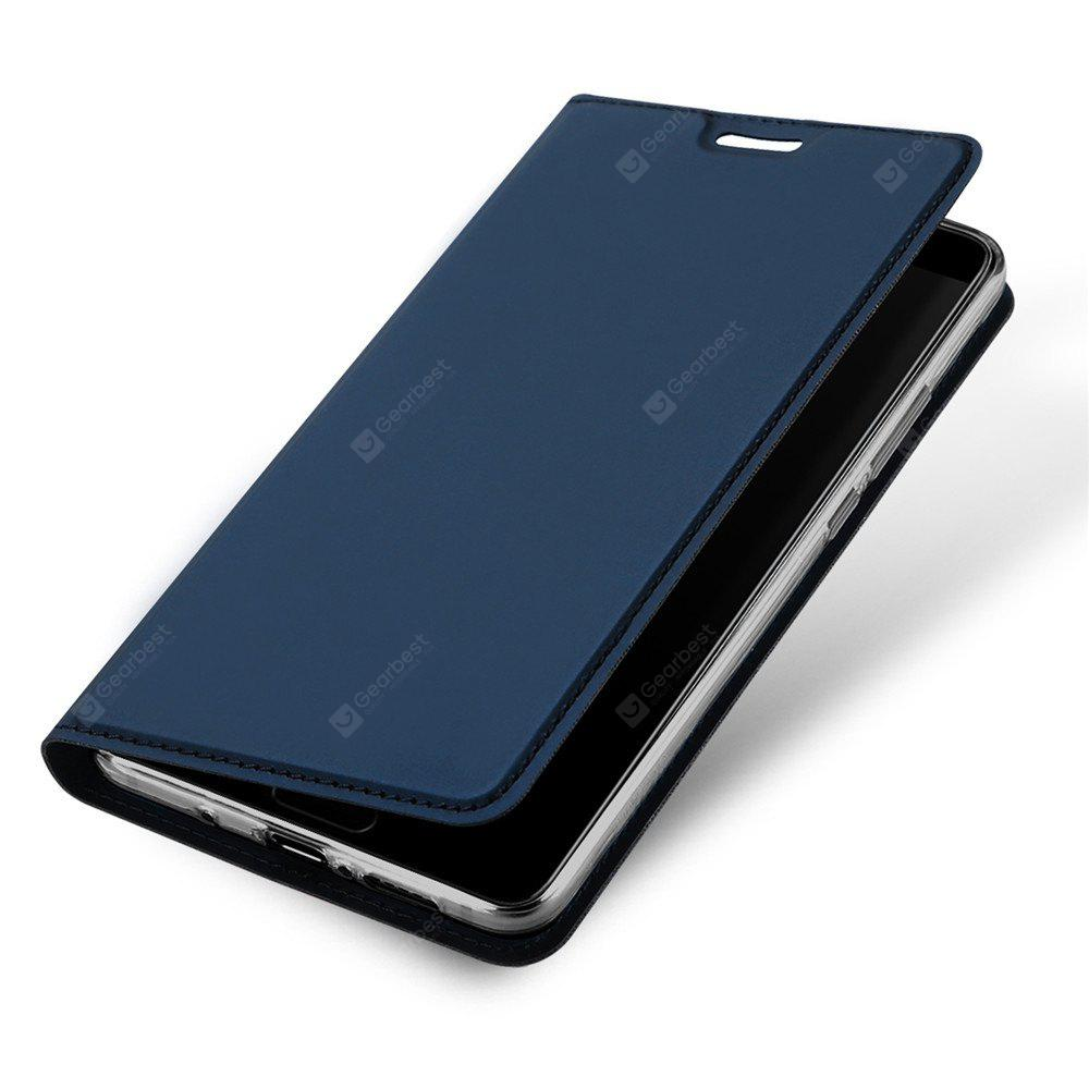 Magnetic Full Body Solid Color PU Étui en Cuir pour Huawei Mate 10