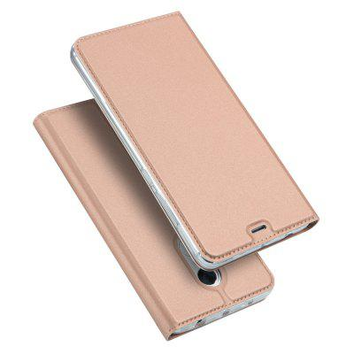 Magnetic Full Body Solid Color PU Étui en Cuir pour Redmi Note 4
