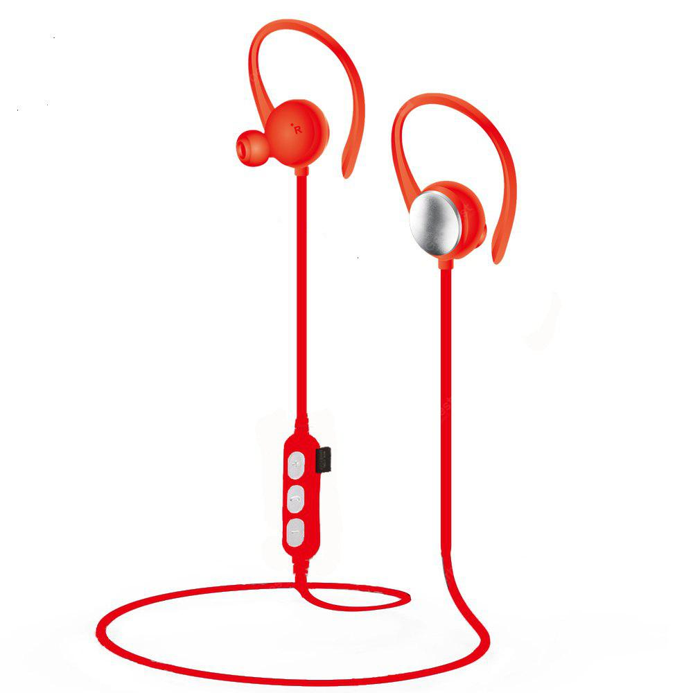 Sports Bluetooth Earphone  Wirless Handfree Headphones MIC with TF Card Slot For Phone