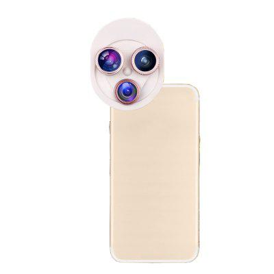 Mobile Phone Lens Universal Rotary 198 Degree  Fish Eyes 0.63x Wide-Angle Macro Polarizer ZM-018