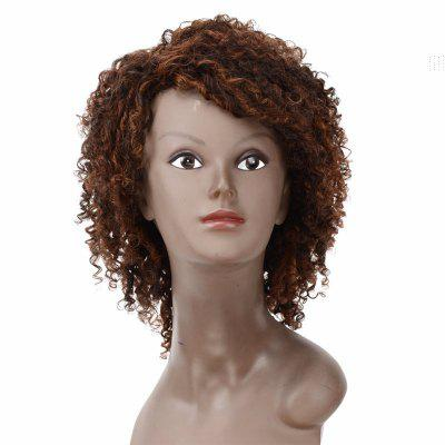 Human Hair Special Curly Wig for Women RC0747