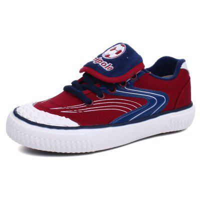 Boys and Girls Children's Football Canvas Shoes