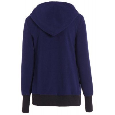 Womens Maternity Kangaroo Hooded Sweatshirt for Baby Carriers CoatsJackets &amp; Coats<br>Womens Maternity Kangaroo Hooded Sweatshirt for Baby Carriers Coats<br><br>Closure Type: Zipper<br>Clothes Type: Long Coat<br>Collar: Turtleneck<br>Elasticity: Elastic<br>Embellishment: Zippers<br>Fabric Type: Velour<br>Material: Cotton, Polyester<br>Package Contents: 1 x Hoodie<br>Pattern Style: Solid<br>Pattern Type: Solid<br>Season: Fall<br>Shirt Length: Regular<br>Sleeve Length: Full<br>Style: Active<br>Type: Wide-waisted<br>Weight: 0.6500kg<br>With Belt: No<br>With Fur Collar: No