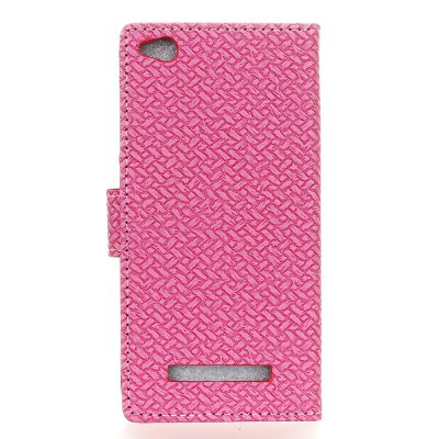 WovenPattern Texture Wallet Leather Stand Cover Phone Cases for Redmi 4ACases &amp; Leather<br>WovenPattern Texture Wallet Leather Stand Cover Phone Cases for Redmi 4A<br><br>Compatible Model: NOTE 4A<br>Features: Full Body Cases, Cases with Stand, With Credit Card Holder, Anti-knock<br>Material: PU Leather<br>Package Contents: 1 x Phone Case<br>Package size (L x W x H): 15.00 x 8.00 x 2.00 cm / 5.91 x 3.15 x 0.79 inches<br>Package weight: 0.0500 kg<br>Style: Solid Color