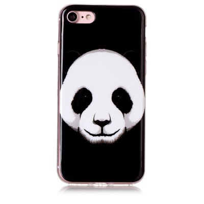 Panda Pattern Soft TPU anti-rayures couverture arrière pour iPhone 6