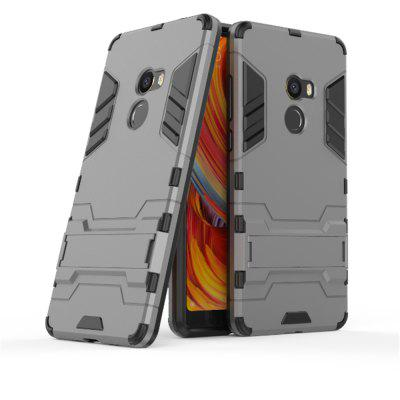For Xiaomi MIX2 Shockproof Tank Armour Hybrid Stents ShieldCases &amp; Leather<br>For Xiaomi MIX2 Shockproof Tank Armour Hybrid Stents Shield<br><br>Features: Back Cover, Anti-knock<br>Mainly Compatible with: Xiaomi<br>Material: TPU, PC<br>Package Contents: 1 x Phone Case<br>Package size (L x W x H): 20.00 x 8.00 x 2.00 cm / 7.87 x 3.15 x 0.79 inches<br>Package weight: 0.0400 kg<br>Product weight: 0.0300 kg<br>Style: Solid Color