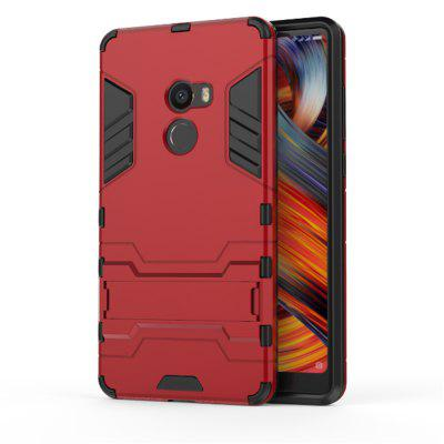 For Xiaomi MIX2 Shockproof Tank Armour Hybrid Stents Shield- RED