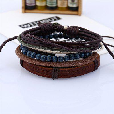 4Pcs Mens Bracelet Vintage All Match AccessoryMens Jewelry<br>4Pcs Mens Bracelet Vintage All Match Accessory<br><br>Gender: Unisex<br>Metal Type: Alloy<br>Occasion: Party<br>Package Contents: 4 x Bracelets<br>Package size (L x W x H): 13.00 x 8.00 x 9.00 cm / 5.12 x 3.15 x 3.54 inches<br>Package weight: 0.0300 kg<br>Style: Punk