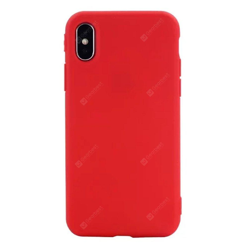 Pour iPhone X Protection de Téléphone Mobile Shell Candy Marca Dragon Thin Shell