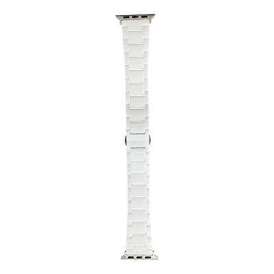 42mm Luxury Ceramic Bracelet Watch Strap Replacement Wrist Band for iWatch  Series 3  2  1+ToolSmart Watch Accessories<br>42mm Luxury Ceramic Bracelet Watch Strap Replacement Wrist Band for iWatch  Series 3  2  1+Tool<br><br>Material: Ceramic<br>Package Contents: 1 x Watch Band With Adapter,  2 x Tool<br>Package size: 15.00 x 6.00 x 1.00 cm / 5.91 x 2.36 x 0.39 inches<br>Package weight: 0.0610 kg<br>Product size: 13.00 x 3.00 x 1.00 cm / 5.12 x 1.18 x 0.39 inches<br>Product weight: 0.0600 kg