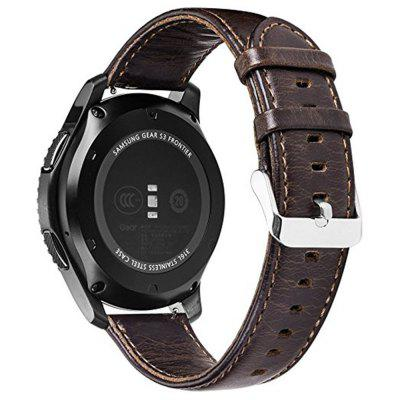 Genuine Leather Retro Cowhide Smart Watch Band with Quick Release Pin for Samsung Gear S3 Frontier / ClassicSmart Watch Accessories<br>Genuine Leather Retro Cowhide Smart Watch Band with Quick Release Pin for Samsung Gear S3 Frontier / Classic<br><br>Material: Genuine Leather<br>Package Contents: 1 x Leather Watch Band<br>Package size: 15.00 x 6.00 x 1.00 cm / 5.91 x 2.36 x 0.39 inches<br>Package weight: 0.0170 kg<br>Product size: 12.00 x 3.00 x 1.00 cm / 4.72 x 1.18 x 0.39 inches<br>Product weight: 0.0160 kg