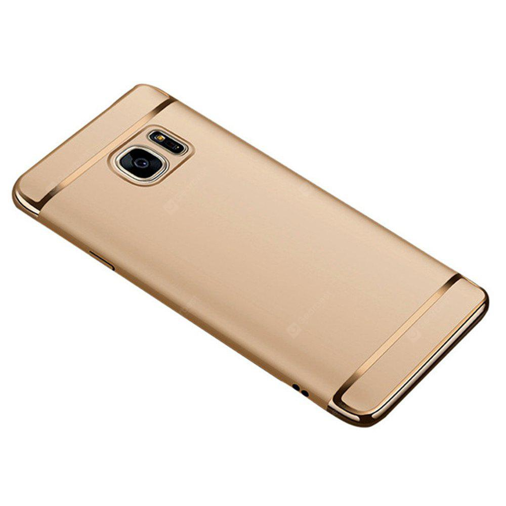 3 In 1 Ultra Thin and Slim Hard Case Coated Non Slip Matte Surface with Electroplate Frame For Samsung Galaxy S7