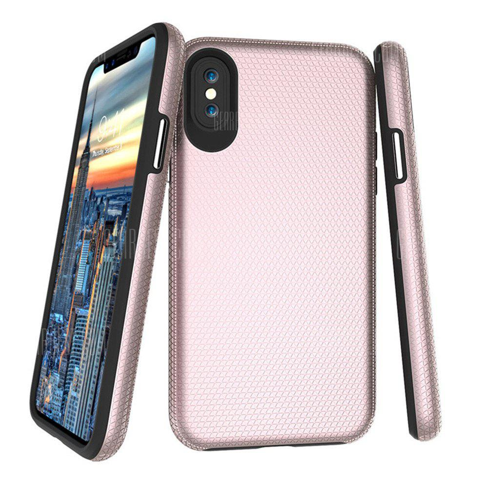 Hybrid Armor Hard PC TPU Soft Case para iPhone X Shockproof Diamond Cell Phone Colorful Durable Skin Cover