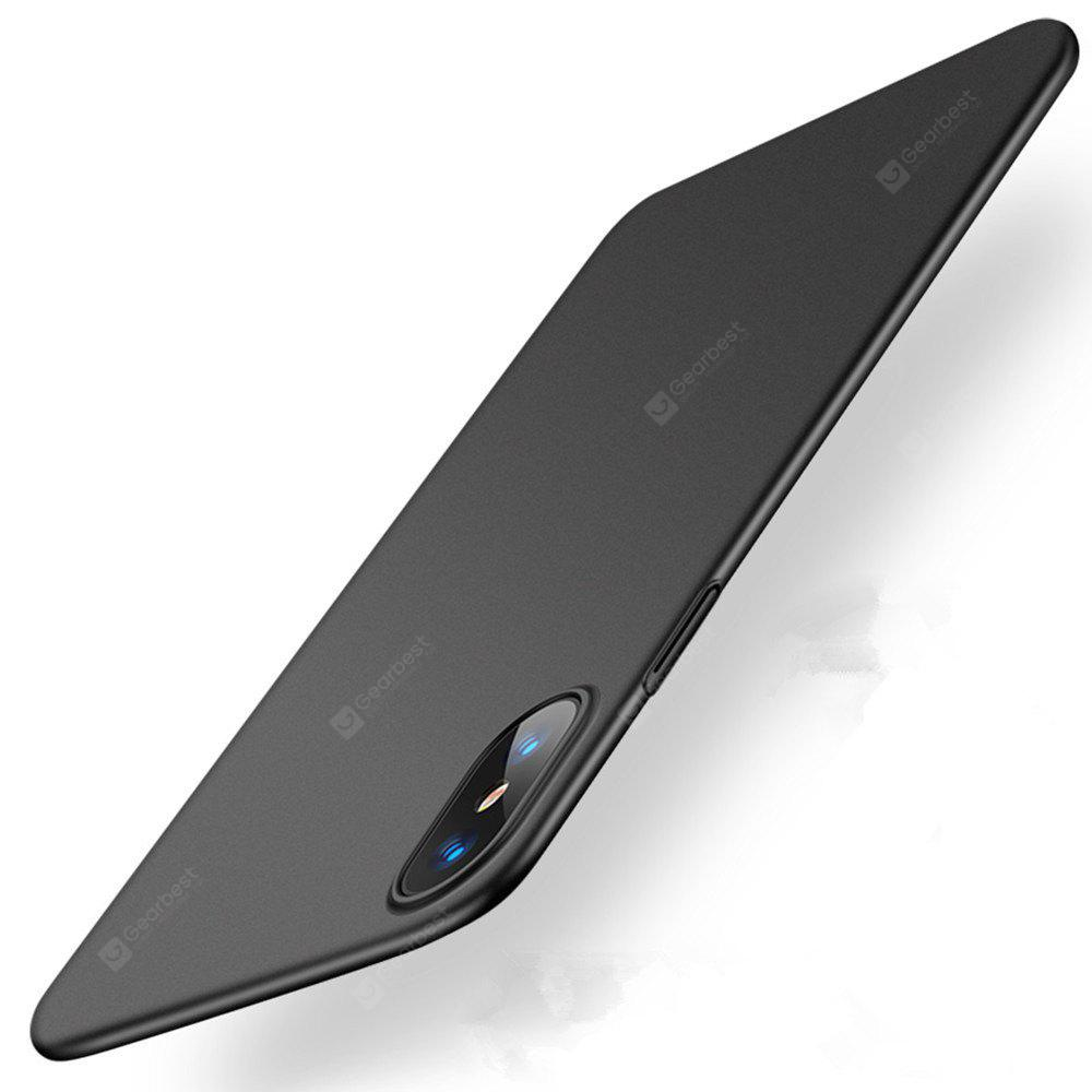 For iPhone X Case Luxury Hard PC Back Ultra Thin Plastic Shockproof Full