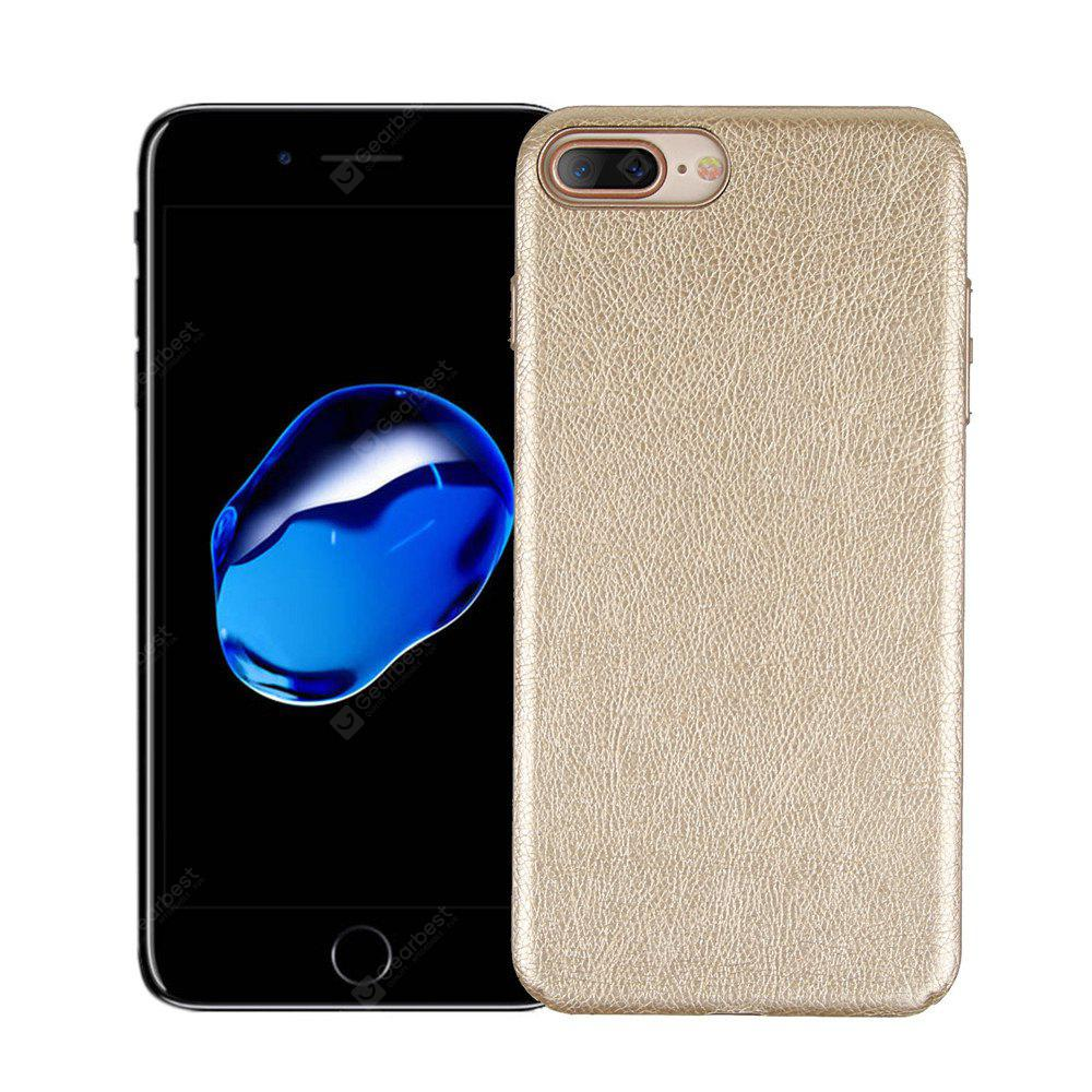 Nuevo Litchi Grain Leather Grain + PC Next Case para iPhone 7 Plus