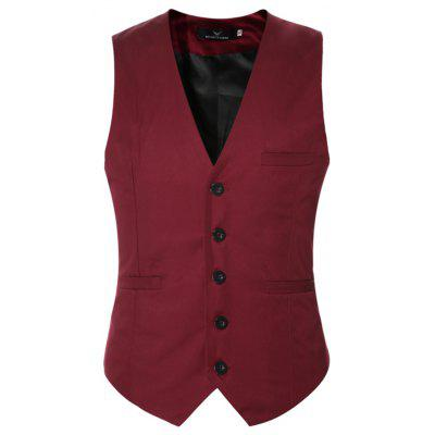 Mens Classic Formal Business Slim Fit Chain  Vest Suit Tuxedo WaistcoatMens Blazers<br>Mens Classic Formal Business Slim Fit Chain  Vest Suit Tuxedo Waistcoat<br><br>Closure Type: Single Breasted<br>Clothing Length: Regular<br>Embellishment: None<br>Fit Type: Skinny<br>Hooded: No<br>Material: Cotton, Polyester<br>Package Contents: 1 x Vest<br>Package size (L x W x H): 1.00 x 1.00 x 1.00 cm / 0.39 x 0.39 x 0.39 inches<br>Package weight: 0.2400 kg<br>Pattern Type: Solid<br>Sleeve Length: Sleeveless<br>Type: Vests