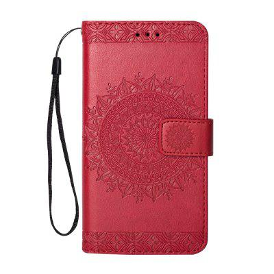Totem Design Embossed Wallet Flip PU Leather Card Holder Standing Phone Case for iPhone 6 Plus/6s Plus 5.5 Inch
