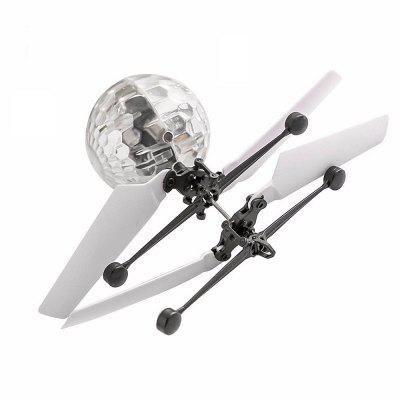 Induction Colorful Lamp Flying Ball Helicopter