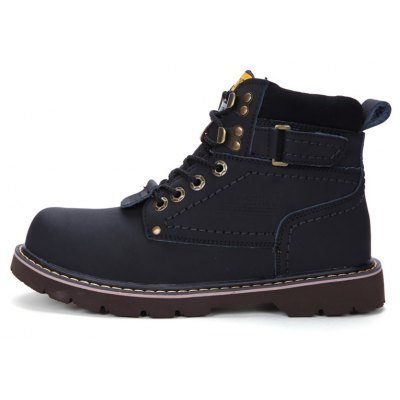 """Mens Boots Solid Color Lace Up PU Outdoor Fashion ShoesMens Boots<br>Mens Boots Solid Color Lace Up PU Outdoor Fashion Shoes<br><br>Boot Height: Ankle<br>Boot Type: Snow Boots<br>Closure Type: Lace-Up<br>Embellishment: Sequined<br>Gender: For Men<br>Heel Hight: Low(0.75""""-1.5"""")<br>Heel Type: Flat Heel<br>Outsole Material: Rubber<br>Package Contents: 1 x shoes?pair?<br>Pattern Type: Solid<br>Season: Winter<br>Toe Shape: Round Toe<br>Upper Material: Leather<br>Weight: 1.3376kg"""