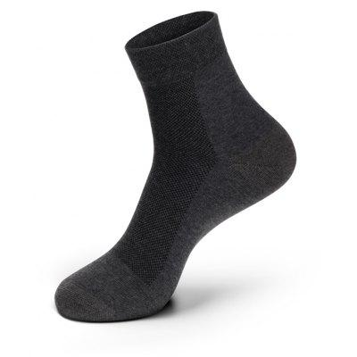 Buy GRAY SPEL Silver Excellent Socks Antibacteria Men's Business Socks Thin Style for $11.05 in GearBest store