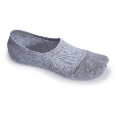Buy GRAY Antibacteria Antiskid Women's Invisible Socks for $9.72 in GearBest store