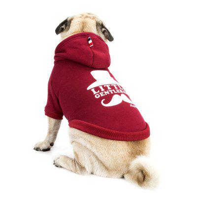 Lovely Little Beard Hoddie Sweater for Dogs and Cats