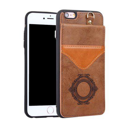 PU Leather Back Cover with Card Slots Mirror for iPhone 7 / 8iPhone Cases/Covers<br>PU Leather Back Cover with Card Slots Mirror for iPhone 7 / 8<br><br>Compatible for Apple: iPhone 7, iPhone 8<br>Features: Back Cover, Cases with Stand, With Credit Card Holder, With Mirror<br>Material: TPU, PU Leather<br>Package Contents: 1 x Phone Case<br>Package size (L x W x H): 20.00 x 11.00 x 5.00 cm / 7.87 x 4.33 x 1.97 inches<br>Package weight: 0.1500 kg<br>Product weight: 0.0500 kg<br>Style: Novelty