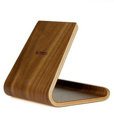 SAMDI Pure Wood Tablet Stand Holder for iPad