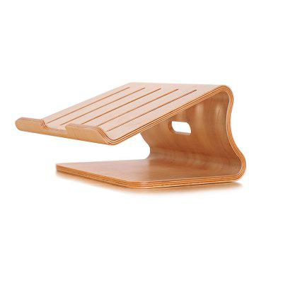SAMDI Wooden Cooling Stand Holder for MacBook Laptop and Notebook