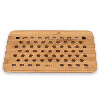 SADMI Bamboo and Wood Stand Holder Rack for MacBook Laptop Notebook and Writing