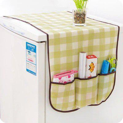 DIHE Refrigerator Cabinet Storage The Cover Towel Dust Proof