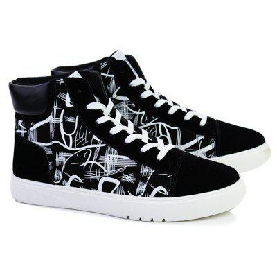Autumn and Winter Art Pattern High Mens ShoesCasual Shoes<br>Autumn and Winter Art Pattern High Mens Shoes<br><br>Available Size: 39,40,41,42,43,44<br>Closure Type: Lace-Up<br>Embellishment: None<br>Gender: For Men<br>Outsole Material: Rubber<br>Package Contents: 1xShoes(pair)<br>Pattern Type: Others<br>Season: Winter, Spring/Fall<br>Toe Shape: Round Toe<br>Toe Style: Closed Toe<br>Upper Material: PU<br>Weight: 1.6896kg