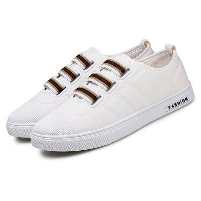 Students Loosen Mens ShoesCasual Shoes<br>Students Loosen Mens Shoes<br><br>Available Size: 39,40,41,42,43,44<br>Closure Type: Elastic band<br>Embellishment: None<br>Gender: For Men<br>Outsole Material: Rubber<br>Package Contents: 1xShoes(pair)<br>Pattern Type: Striped<br>Season: Summer, Winter, Spring/Fall<br>Toe Shape: Round Toe<br>Toe Style: Closed Toe<br>Upper Material: Canvas<br>Weight: 1.6896kg