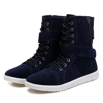 "Hot Style High Boots for Mens BootsMens Boots<br>Hot Style High Boots for Mens Boots<br><br>Boot Height: Ankle<br>Boot Type: Fashion Boots<br>Closure Type: Lace-Up<br>Embellishment: None<br>Gender: For Men<br>Heel Hight: Flat(0-0.5"")<br>Heel Type: Flat Heel<br>Outsole Material: PVC<br>Package Contents: 1xShoes(pair)<br>Pattern Type: Solid<br>Season: Winter, Spring/Fall<br>Toe Shape: Round Toe<br>Upper Material: Flock<br>Weight: 1.6896kg"