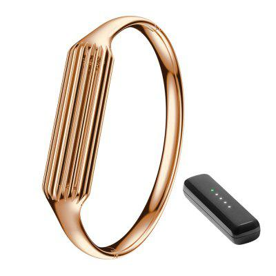 Pure Copper Cylindrical Bracelet for Fitbit Flex 2