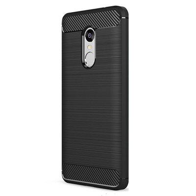 Brushed Finish Soft Phone Case for Xiaomi Redmi Note 4X