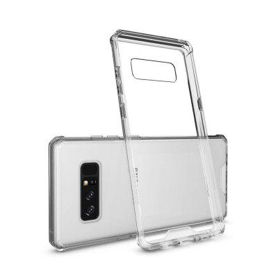 Buy TRANSPARENT Shockproof Transparent Back Cover Hard Acrylic Case for Samsung Galaxy Note 8 for $4.67 in GearBest store
