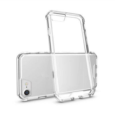 Shockproof Transparent Back Cover Hard Acrylic for Case for iPhone 8 / 7