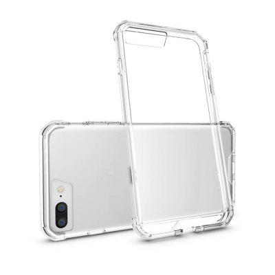 Shockproof Transparent Back Cover Transparent Hard Acrylic for iPhone 8 Plus / 7 Plus