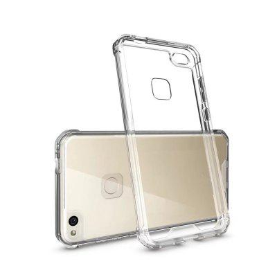 Shockproof Transparent Back Cover Hard Acrylic Case for Huawei P8 Lite (2017)