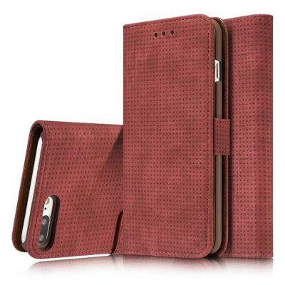 Для iPhone 8Plus / 7Plus Cover Case Mesh Style Flip Wallet