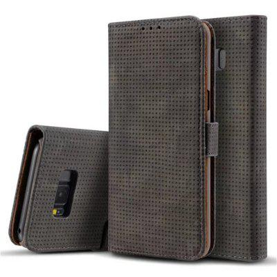 For Samsung Galaxy S8 Plus Cover Case Mesh Style Flip Wallet